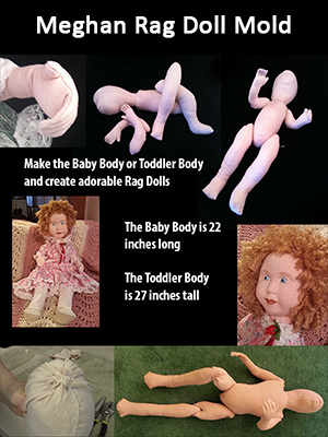 Meghan Rag Doll Mold and Course