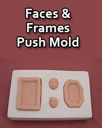 faces and frames mold