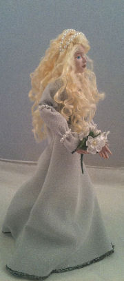 gown doll finished