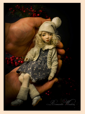 Polymer Clay Ball Jointed Dolls by Romantic WondersWhite ...