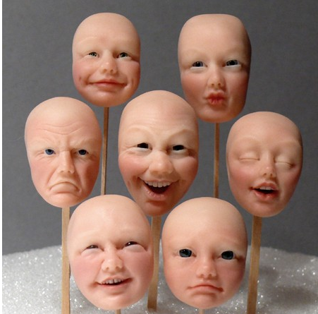 how to make face molds at home