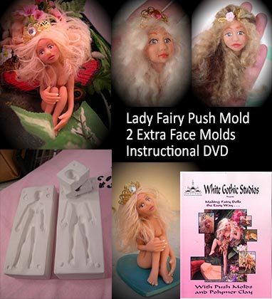 lady fairy push mold package