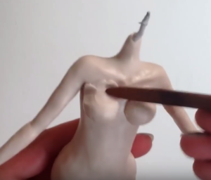Certainly-Caroline-sculpting-breasts